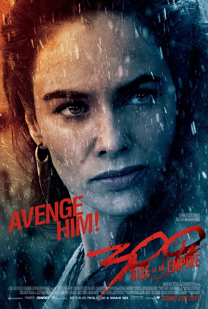 300: Rise of An Empire Character Poster Released for Queen Gorgo