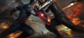 Captain America The Winter Solider Comic-Con Exclusive Poster