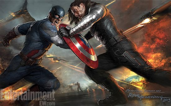 Captain America The Winter Soldier concept art
