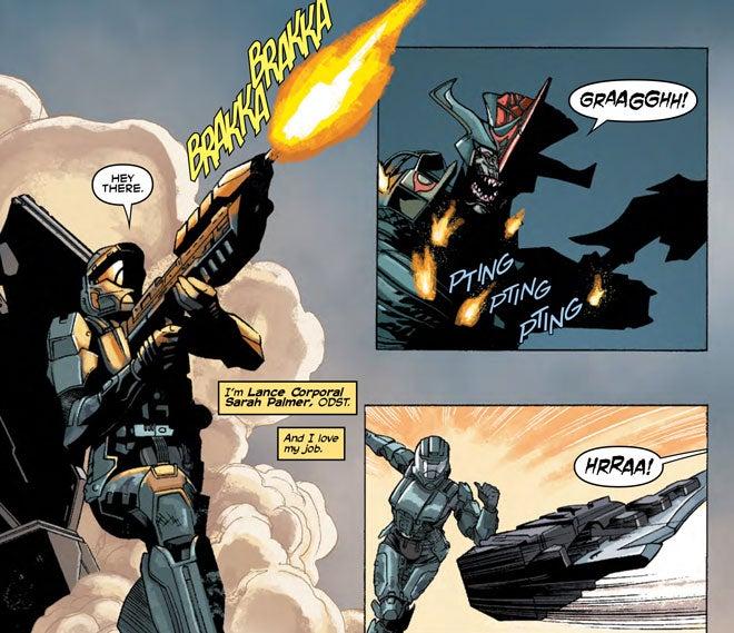 Official Halo Comics Halo Ongoing Comic Series