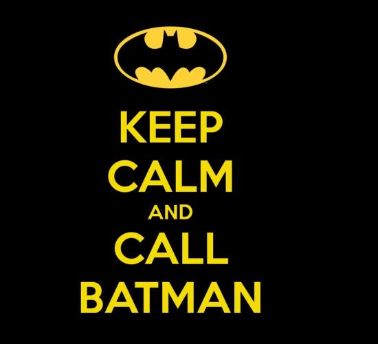 Man Of Steel Keep Calm And Call Batman Easter Egg