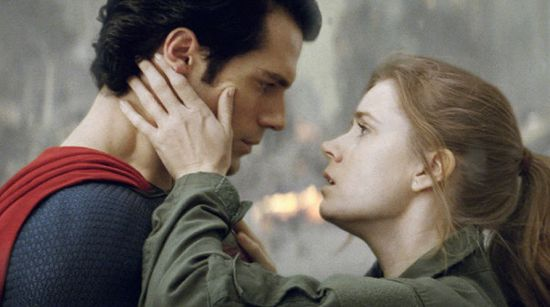 Man Of Steel Henry Cavill & Amy Adams