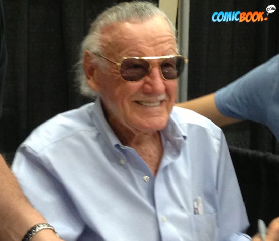 Stan Lee Smiling