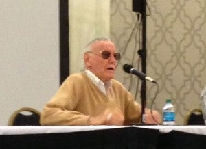 Stan Lee talks Spider-Man