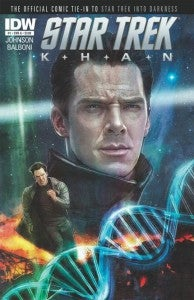 Star Trek Khan Comic Book