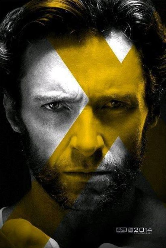 xmen days of future past poster features wolverine
