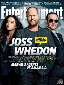 Joss Whedon, Marvel's Agents of S.H.I.E.L.D. Cover Entertainment Weekly