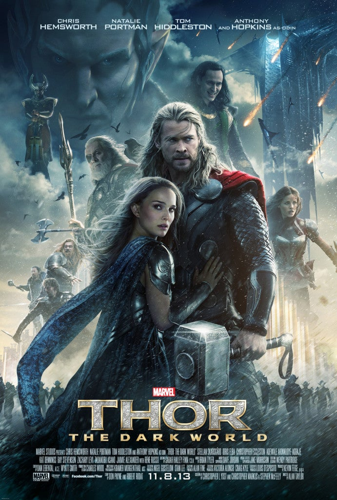 Thor: The Dark World Confirmed for IMAX 3D Release a Week Before U.S. Debut