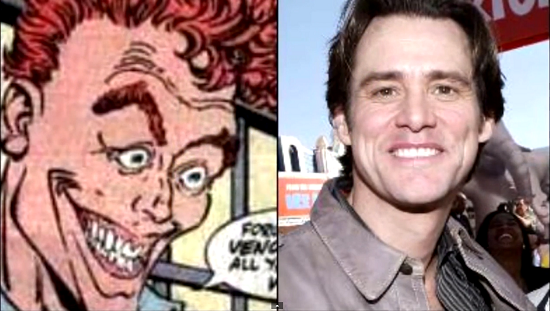 Jim Carrey Rumored to Play Carnage's Host in The Amazing Spider-Man 2
