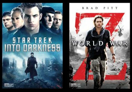 Star Trek Into Darkness/World War Z Double Feature Hits Theaters This Weekend