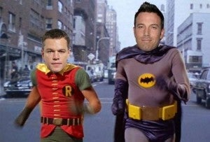 Matt Damon as Robin