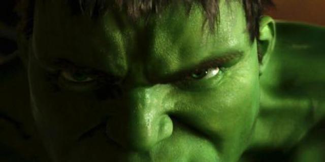 The Hulk as played by Eric Bana.