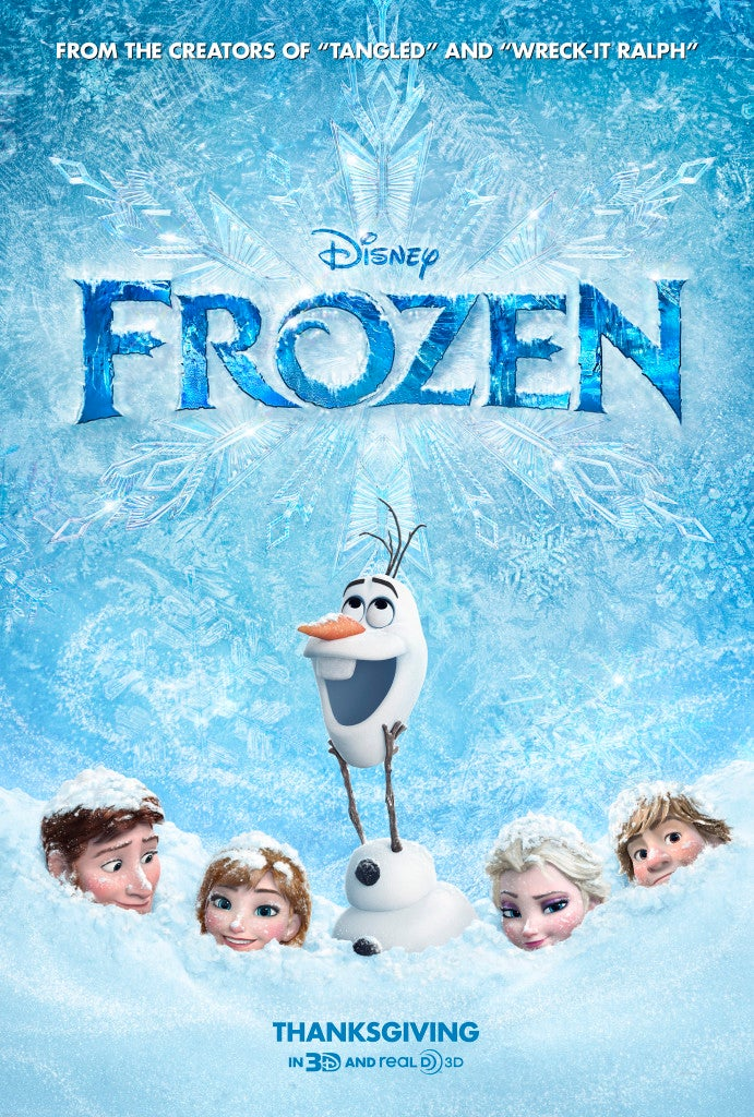 Disney's Frozen To Get Week-Early Release at Disney-Owned Cinema