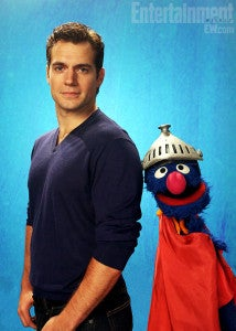 When Man of Steel Star Henry Cavill Met Super Grover