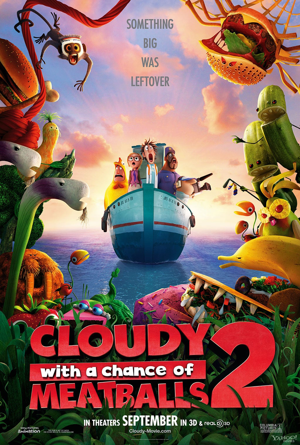cloudy-with-a-chance-of-meatballs-2-poster - Last Movie You've Watched - Youtube Replay