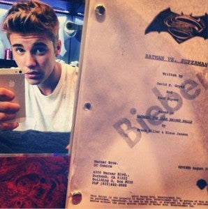 Jutin Bieber as Robin