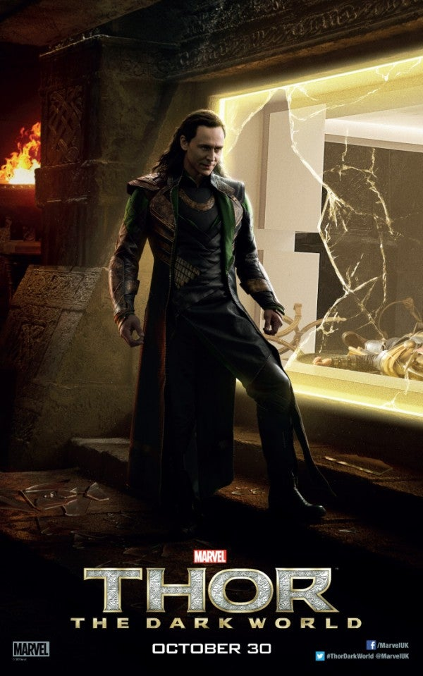 Loki Kills an Asgardian to Escape in New Poster