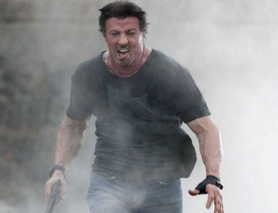 Sylvester Stallone Attacked By Wild Boar On Expendables 3 Set