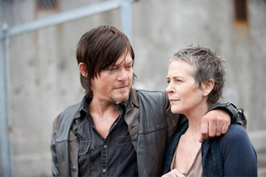 Lee Dixon (actor) Wallpapers Melissa McBride Theres Chemistry Between The Walking Deads