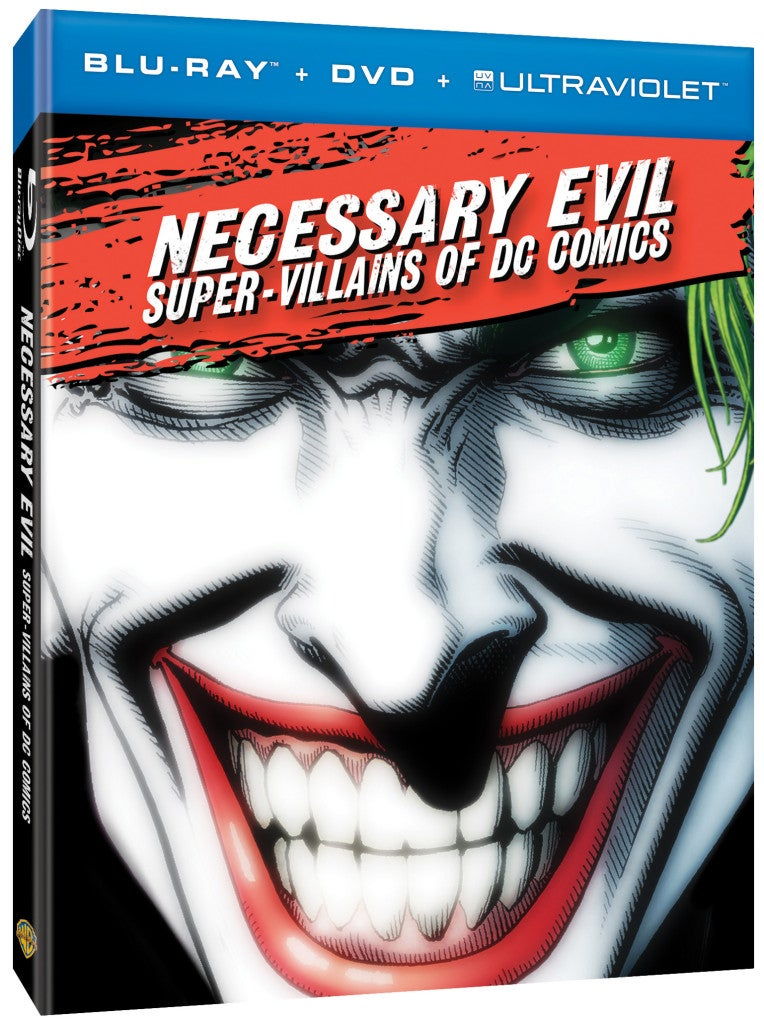 DC Comics Villains Documentary Necessary Evil: First Clip Released