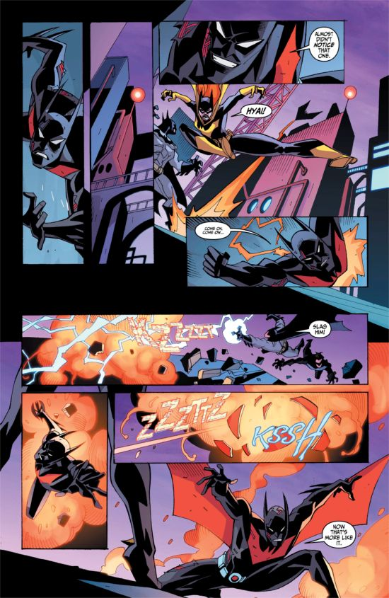 Dc Comics Exclusive Preview Batman Beyond Universe 3