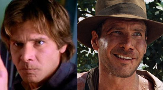 Han Solo & Indiana Jones