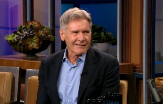 Jay Leno Grills Harrison Ford On Star Wars Episode VII