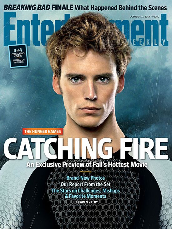 Hunger Games Catching Fire EW Cover 4