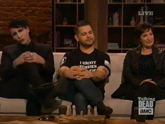 Marilyn Manson on Talking Dead