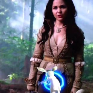 Once Upon a Time in Wonderland's Blundered Promo Spotlights Actress's Crotch