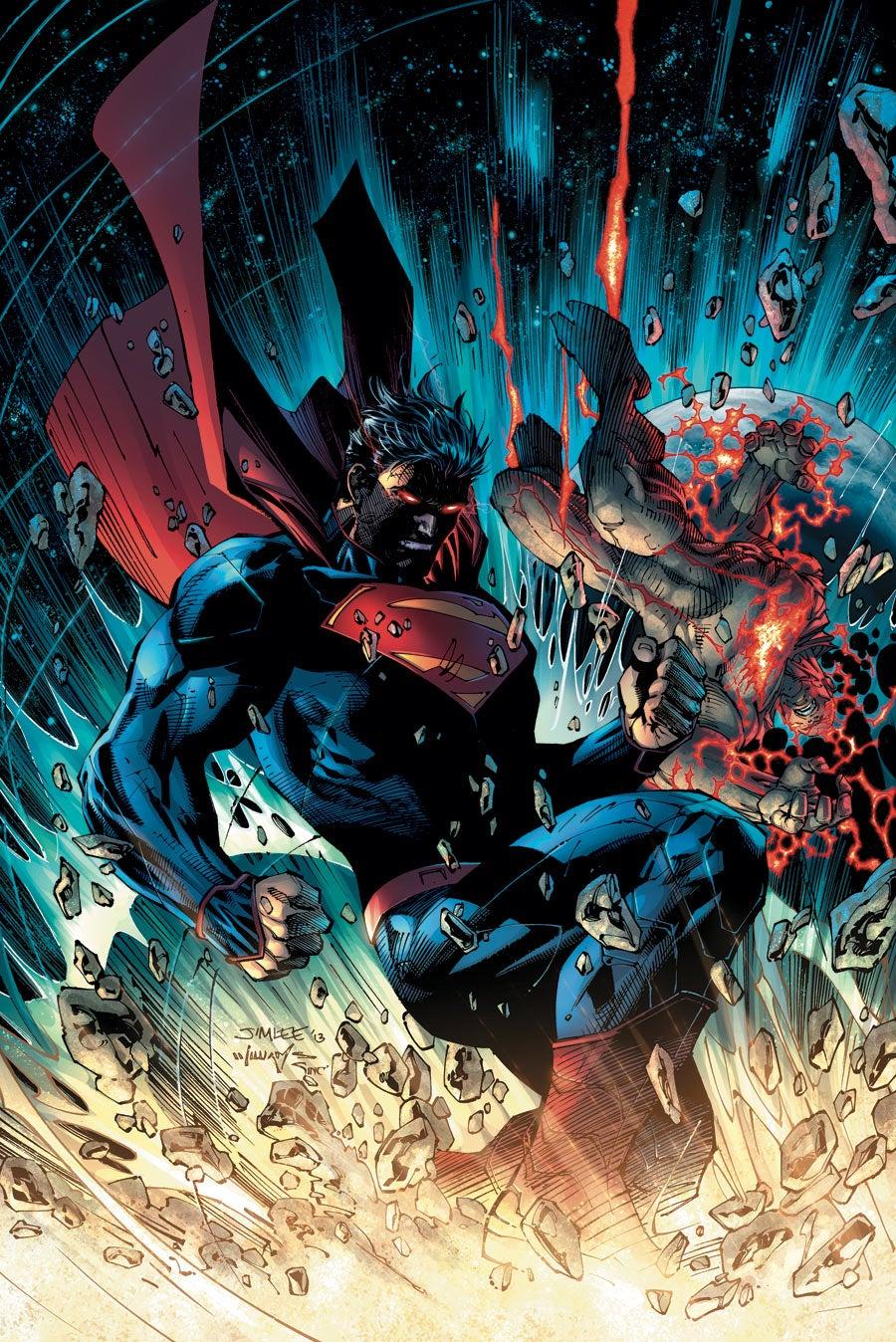 Best Comic Book Cover Artists : Jim lee will finish batman europa after superman
