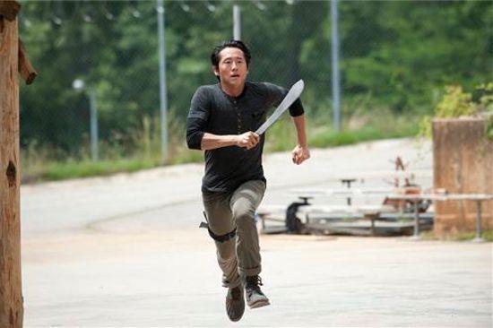 The Walking Dead Infected Glenn