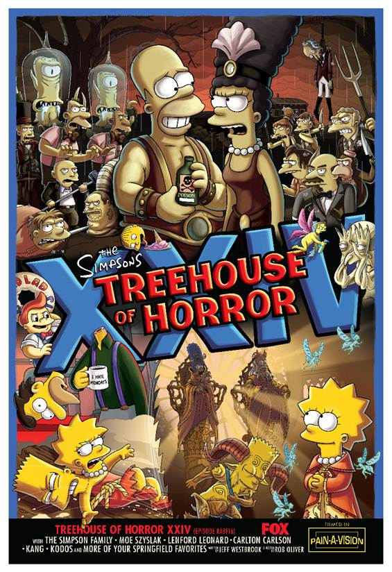The Simpsons: Guillermo del Toro's Treehouse of Horror Couch Gag Officially Released