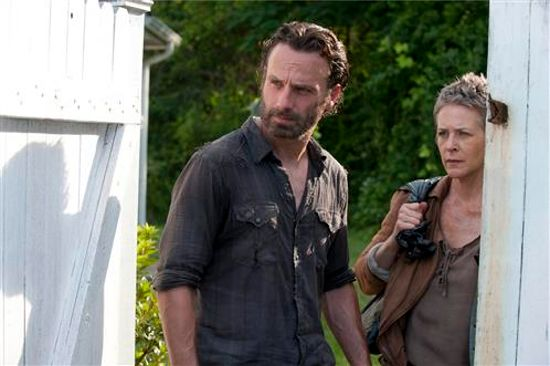 Walking Dead Indifference Rick & Carol