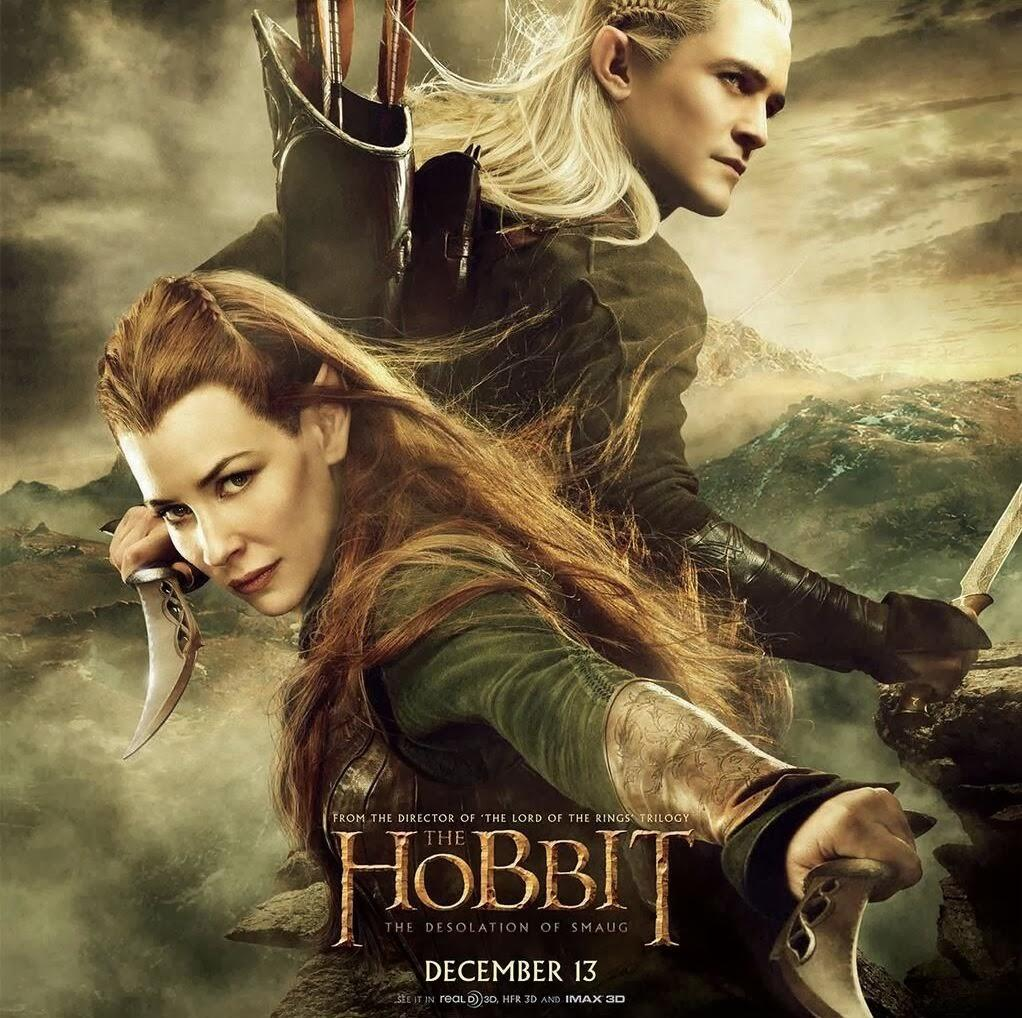The Hobbit: The Desolation of Smaug Elven Poster Revealed
