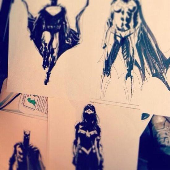 Batman vs. Superman Concept Art? The Artist Says No
