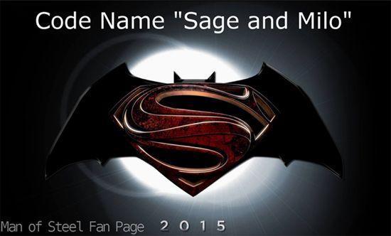 Batman Vs. Superman is Sage and Milo