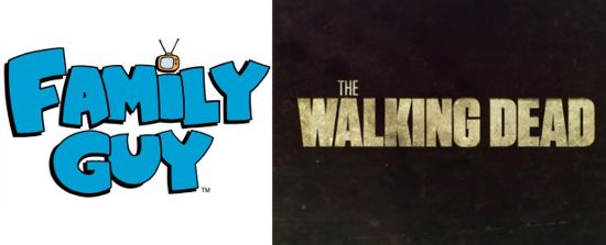 Family Guy Shocking Death Walking Dead