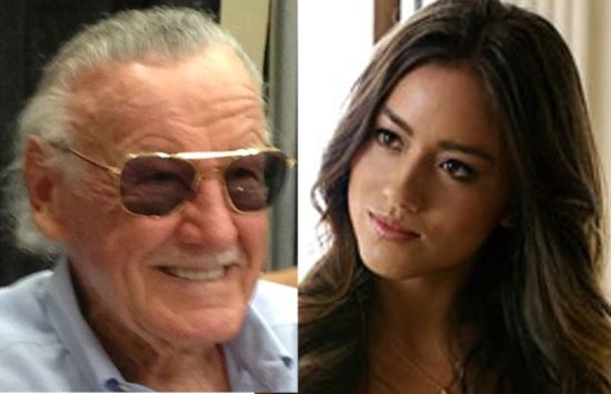 Stan Lee & Chole Bennet