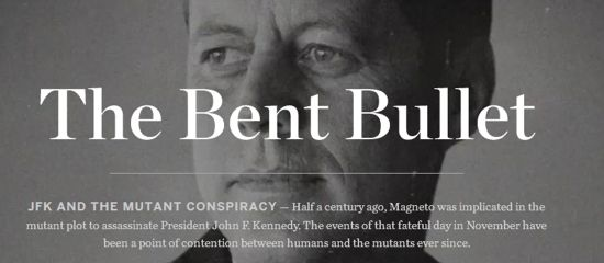 The Bent Bullet JFK