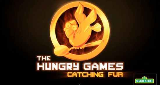 Sesame Street Parodies The Hunger Games Catching Fire