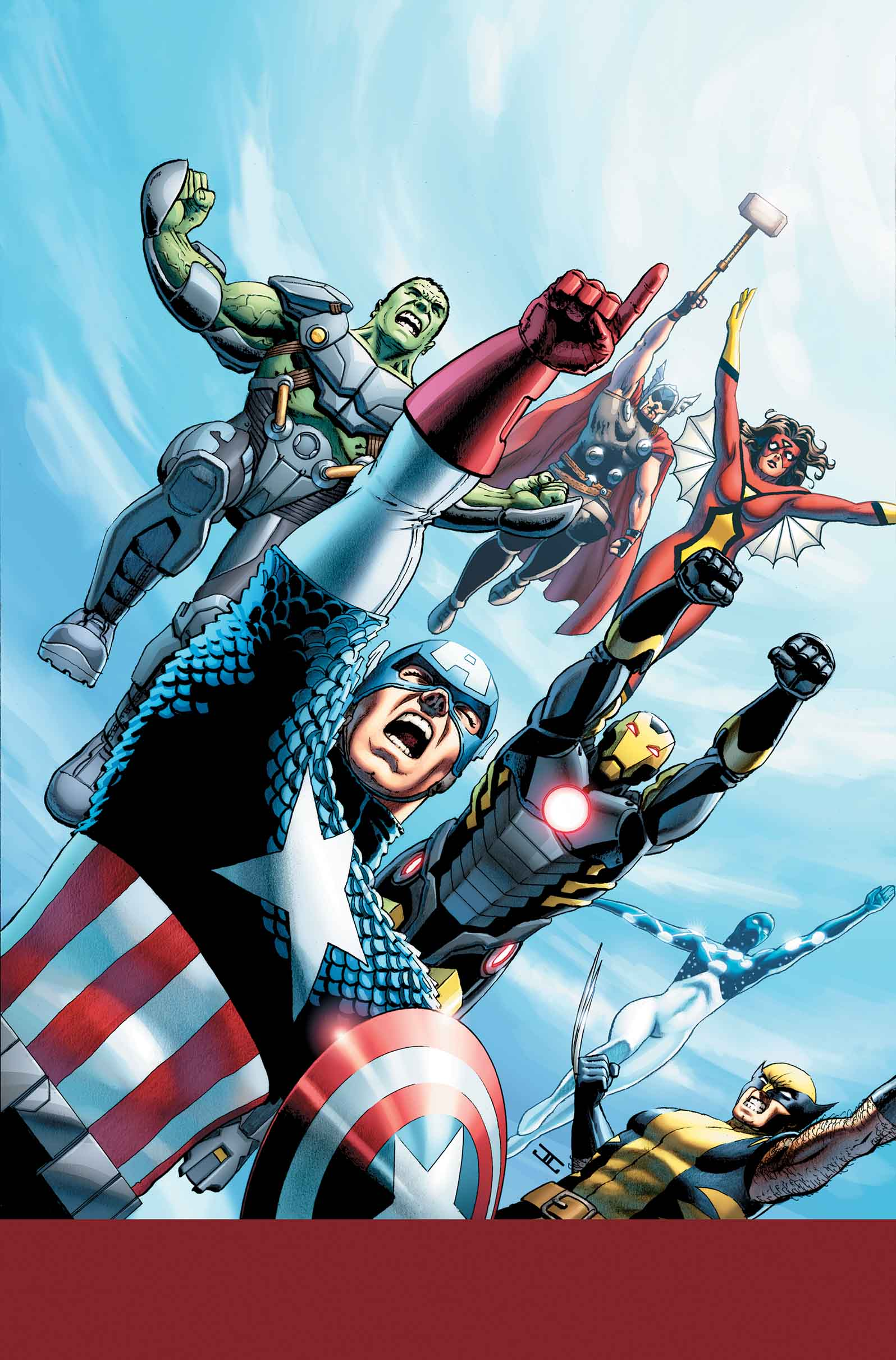 avengers world  1 preview released from marvel comics