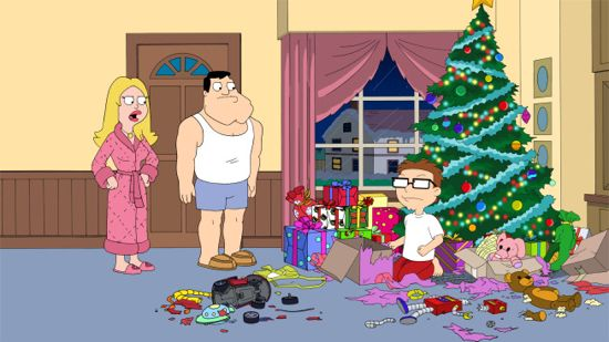american dad christmas story never told