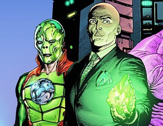 Lex Luthor & Metallo