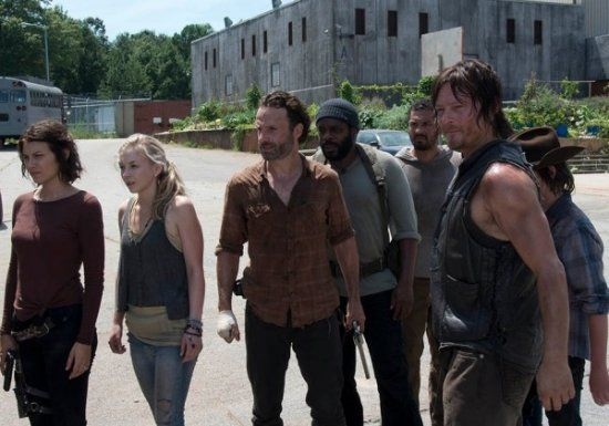 The Walking Dead mid-season finale