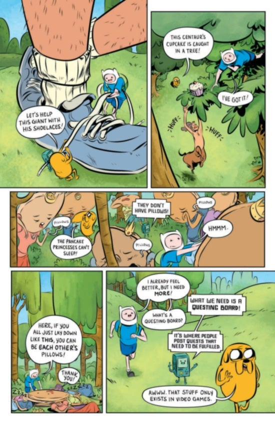 Adventure TIme The Flip Side #1 Page 3