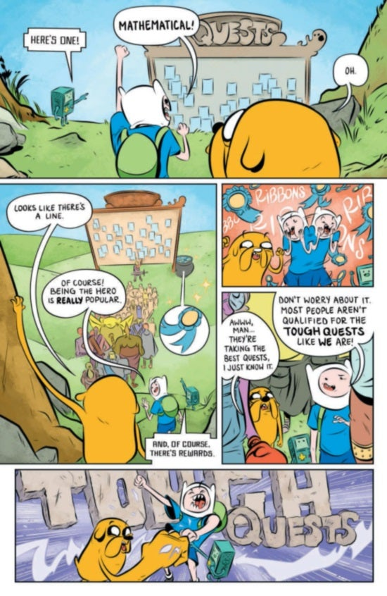 Adventure TIme The Flip Side #1 Page 4
