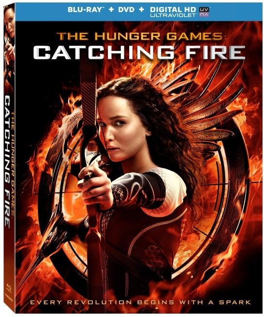 Catching Fire Blu Ray