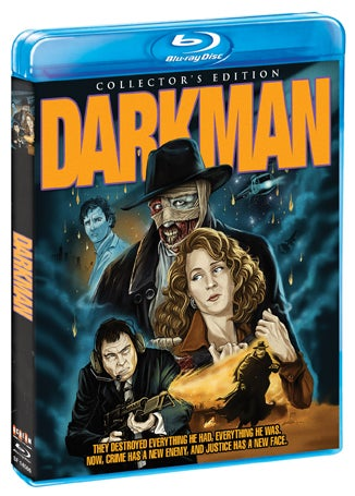 Sam Raimi's Darkman Comes to Blu-Ray in February
