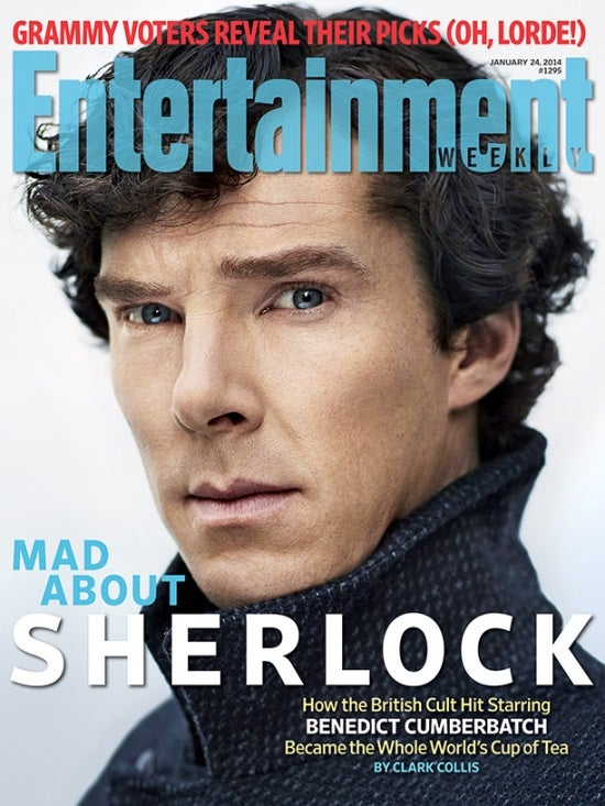 Entertain Weekly's Sherlock Cover